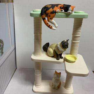 BANDAI - ナーゴコレクション 猫ちゃん達とキャットタワーセット