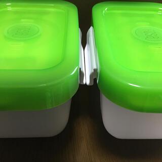 フォーサ真空コンテナ角型 中2個[新品未使用]保存容器