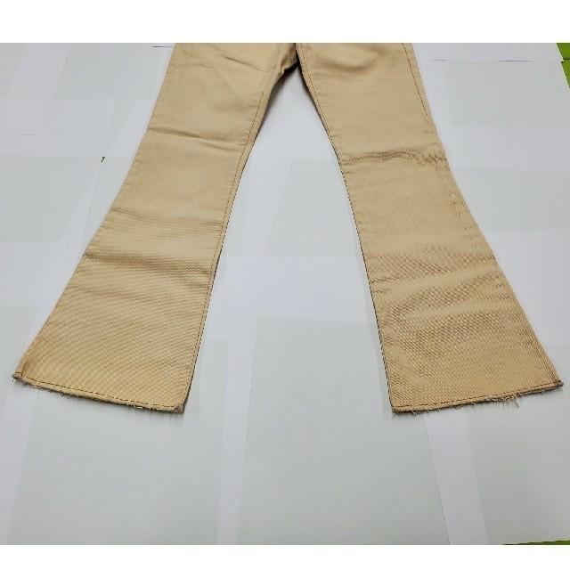 Gucci(グッチ)のGUCCI 極美品 チノパン ズボン パンツ ボトム ベージュ レザー グッチ メンズのパンツ(チノパン)の商品写真