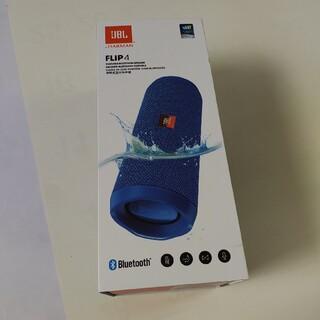 JBL FLIP4 ハーマン Bluetooth 防水 スピーカー ブルー