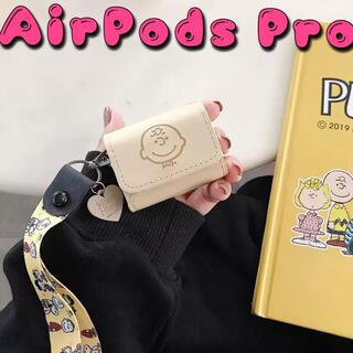 SNOOPY - 新品 ケース Airpods pro カバー SNOOPY チャーリー レザー