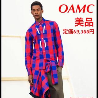 OAMC チェック シャツ 長袖 RING WOVEN SHIRT