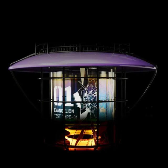 【新品未開封】エヴァンゲリオン トヨトミレインボーストーブ EVA初号機 スマホ/家電/カメラの冷暖房/空調(ストーブ)の商品写真