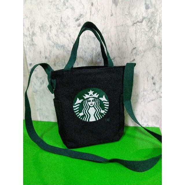 Starbucks Coffee(スターバックスコーヒー)のスタババッグ2色セット★BLACK&RED★ レディースのバッグ(ショルダーバッグ)の商品写真