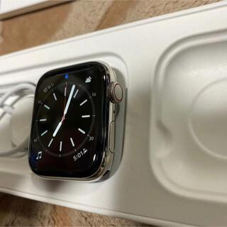 Apple Watch - アップルウォッチ シリーズ6 44mm シルバーステンレススチール