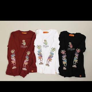 フリークスストア(FREAK'S STORE)のレフトアローン ロンT  刺繍 leftalone(Tシャツ/カットソー(七分/長袖))