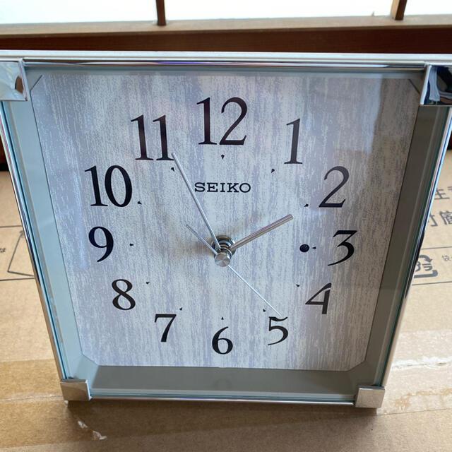 SEIKO(セイコー)の【極美品】SEIKO 置き時計 電波時計 インテリア/住まい/日用品のインテリア小物(置時計)の商品写真