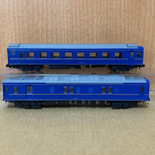 カトー(KATO`)のNゲージ KATO 24系 ブルートレイン カニ24 & オハネフ25 (金帯)(鉄道模型)