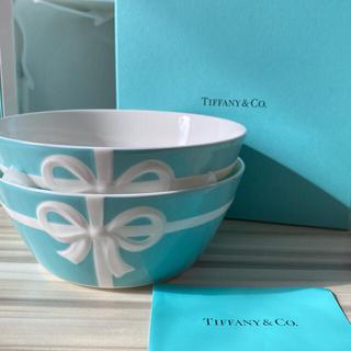 Tiffany & Co. - 【新品未使用】Tiffany & Co. ブルーボックスボウル 2個セット