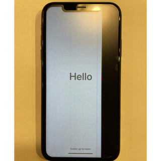 iPhone - [画面割れ]iPhone XR Black 128 GB SIMフリー