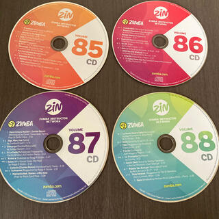 ズンバ(Zumba)のZumba CD DVD No85〜88(スポーツ/フィットネス)