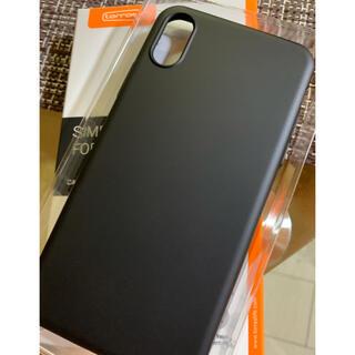 iPhone -  iPhone XSケース【極薄マットBLACK.最終価格】