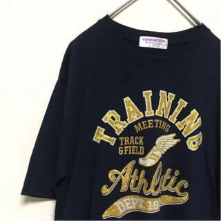 アイスクリーム(EYESCREAM)の古着 ヴィンテージ Tシャツ ウィングフット XLサイズ(Tシャツ/カットソー(半袖/袖なし))