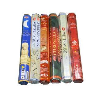 インド お香 人気の定番 アソート 6種類(お香/香炉)