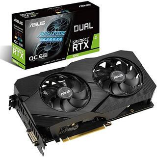 エイスース(ASUS)のASUS Dual GeForce RTX2060 グラフィクスボード(PCパーツ)
