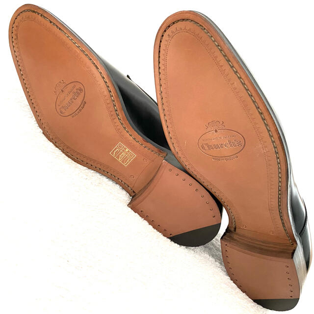 【新品】チャーチ Paris プレーントゥ UK6 G 25cm カーフ ドレス メンズの靴/シューズ(ドレス/ビジネス)の商品写真