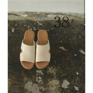 TODAYFUL - TODAYFUL トゥデイフル Leather Slide Sandals