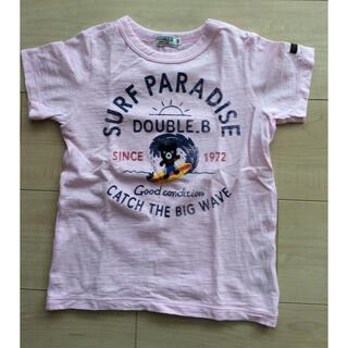 DOUBLE.B - ミキハウス ダブルB Tシャツ 120