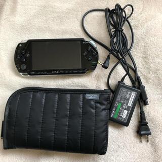 プレイステーションポータブル(PlayStation Portable)のPSP-1000 CFW導入済み(携帯用ゲーム機本体)