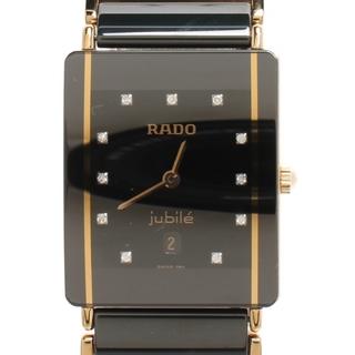 ラドー(RADO)のラドー RADO 腕時計 11Pダイヤ レディース(腕時計)