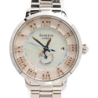 CASIO - カシオ CASIO 腕時計 SHEEN  SHW-1600 レディース