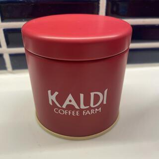 カルディ(KALDI)のカルディ ノベルティ オリジナルキャニスター缶 ミニ(ノベルティグッズ)