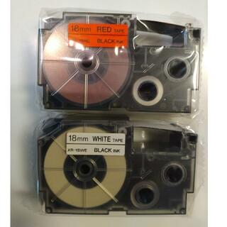 CASIO - カシオネームランドテープ 18㎜2個のセット販売