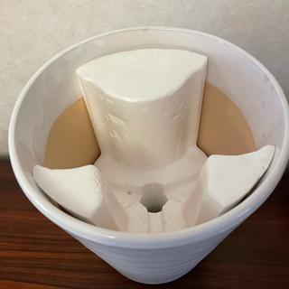 ◆◇陶器 植木鉢 白