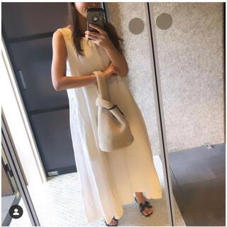 Drawer - yori  リネンロングドレス ホワイト 34