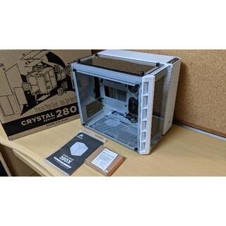 【美品】キューブ型PCケース Corsair Crystal 280X ホワイト