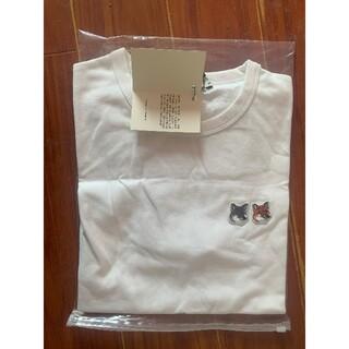 MAISON KITSUNE' - MAISON KITSUNE メゾン キツネ ダブルフォックスヘッド Tシャツ