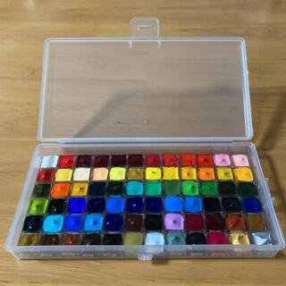 ホルベイン 透明水彩 絵の具 72色セット ケース付き(絵の具/ポスターカラー)