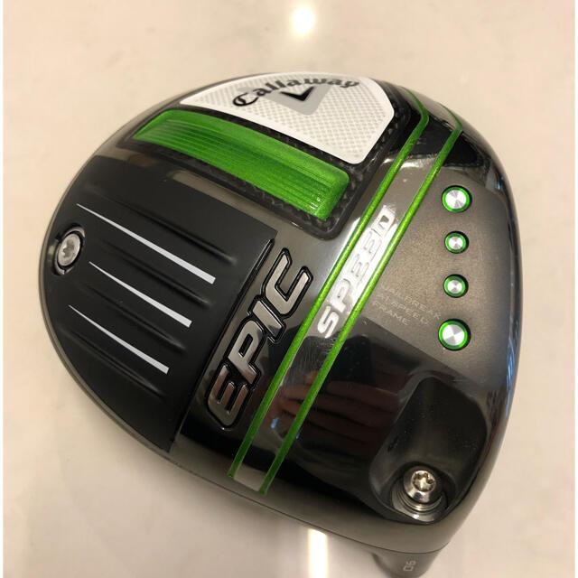 Callaway Golf(キャロウェイゴルフ)のキャロウェイ EPIC SPEED エピックスピード 9.0 ヘッドのみ スポーツ/アウトドアのゴルフ(クラブ)の商品写真