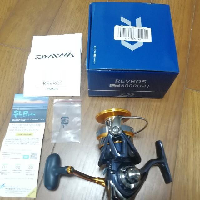 DAIWA(ダイワ)のダイワ レブロス LT6000D-H DAIWA REVROS スポーツ/アウトドアのフィッシング(リール)の商品写真