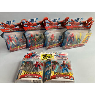 マーベル(MARVEL)のハズブロ スパイダーマン 6点セット(アメコミ)