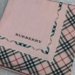 BURBERRY - バーバリー☆大判ハンカチーフ58×58