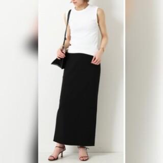 DEUXIEME CLASSE - 新品■Jersey Long タイトスカート■ブラック36■ドゥーズィエムクラス