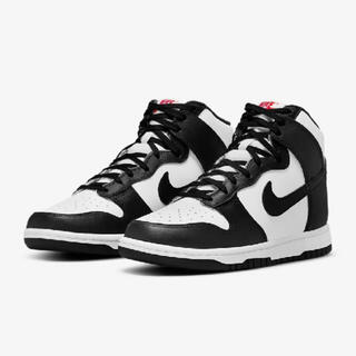 NIKE - NIKE WMNS DUNK HIGH WHITE/BLACK 28.0