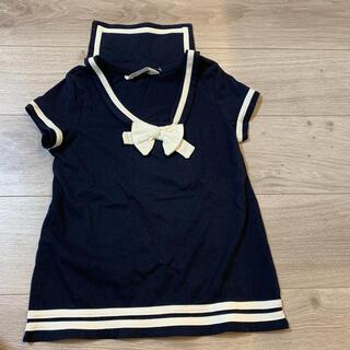 H&M - 女の子 H&M   セーラ風シャツ