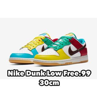 ナイキ(NIKE)のnike dunk low ナイキ ダンクロー free.99(スニーカー)
