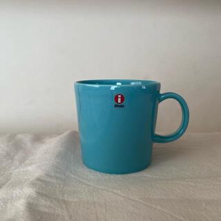 イッタラ(iittala)のイッタラ ティーマ マグカップ ターコイズブルー 廃盤(食器)