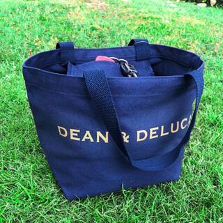 DEAN & DELUCA - DEAN&DELUCA トートバッグ ブルー