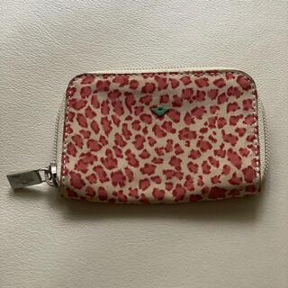 ボッテガヴェネタ(Bottega Veneta)のヴォッテガの豹柄 ミニ財布(コインケース)