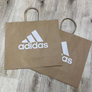 アディダス(adidas)のadidas アディダス 紙袋 大サイズ アディダスショップ袋(ショップ袋)