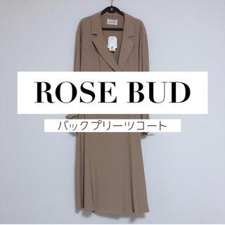 ローズバッド(ROSE BUD)の📣お値下げ【ROSE BUD】タグ付き🏷 バックプリーツ・スプリングコート(スプリングコート)