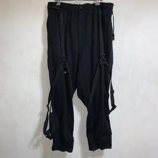 Yohji Yamamoto - 新品 タグ付 Y-3 ヨウジヤマモト クロップド パンツ M L