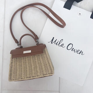 ミラオーウェン(Mila Owen)のミラオーウェン夏バッグ♡(かごバッグ/ストローバッグ)