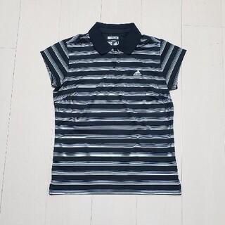 アディダス(adidas)の【未着用品】adidas ゴルフポロシャツ レディース(ポロシャツ)