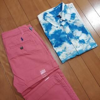 ギャップ(GAP)のSORA iro様専用 ラルフローレンパンツ GAP シャツ 130センチ 美品(ブラウス)