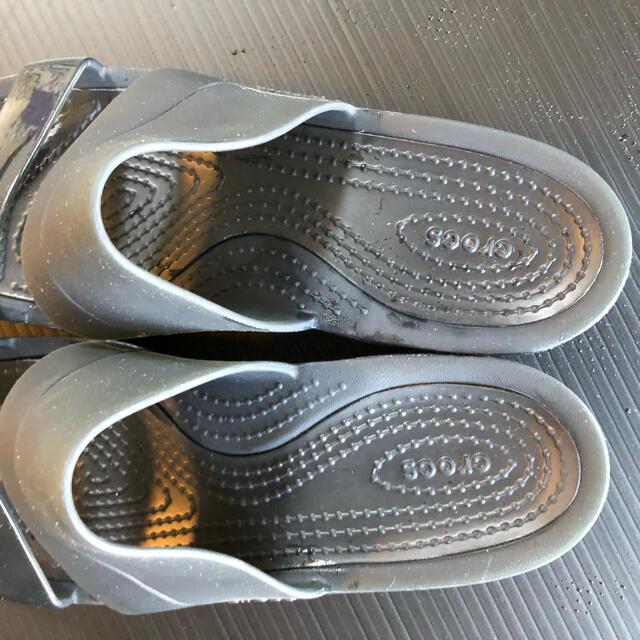 crocs(クロックス)のクロックスサンダル24センチ レディースの靴/シューズ(サンダル)の商品写真